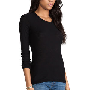 Bobi -Long Sleeve Light Weight Jersey Tops